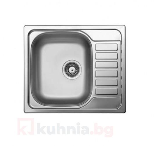 Мивка за вграждане COMPACT 58.1 SI