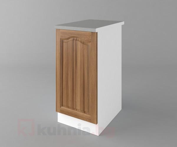 Долен кухненски шкаф с една врата Астра - Канела