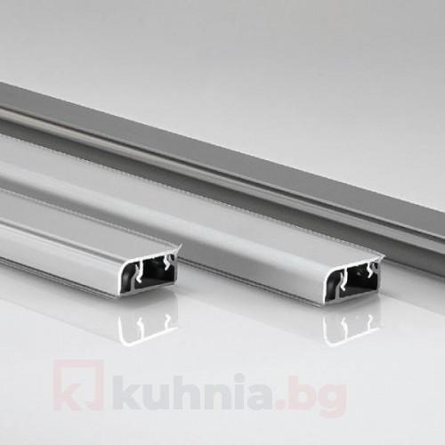 Хоризонтална алуминиева водобранна лайстна - 4м