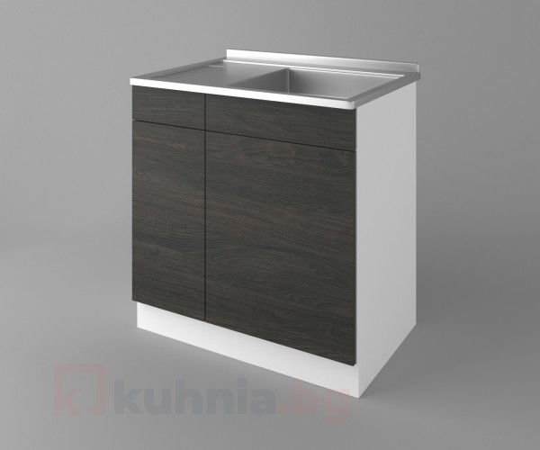 Долен кухненски шкаф с мивка - с едно работещо чекмедже Вега