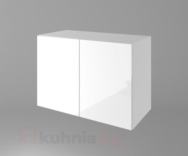 Горен кухненски шкаф за над абсорбатор Нарцис гланц