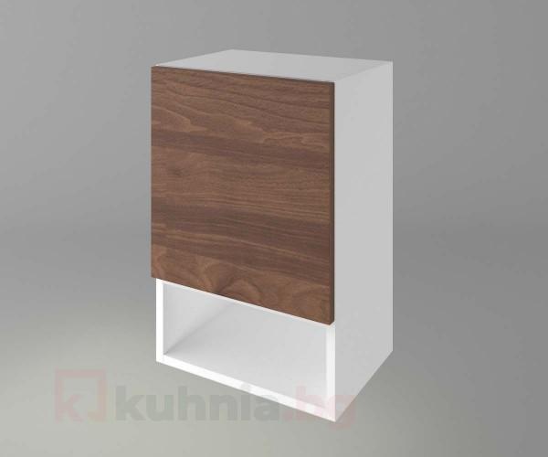 Горен кухненски шкаф с една врата и ниша Атлас