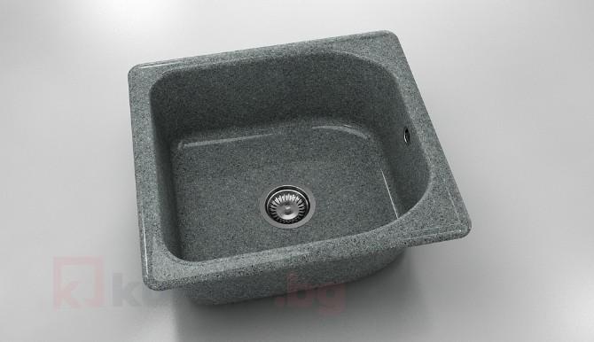 Единична мивка 209- граниксит - 51 х 56 см.