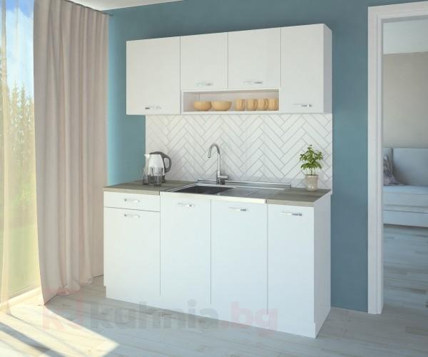 Кухненски комплект Нарцис Мат - L 160 cm