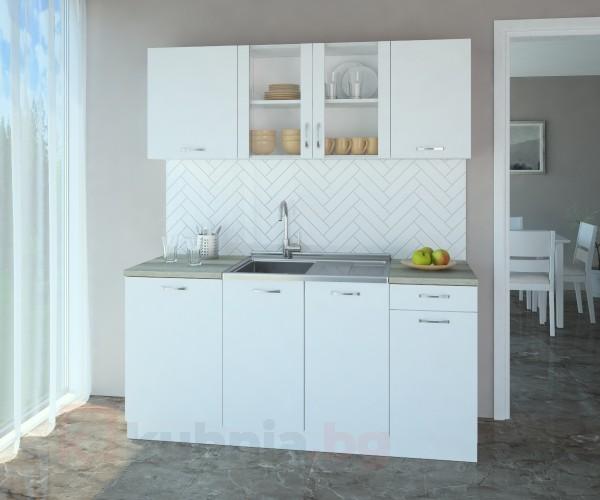 Кухненски комплект Нарцис Мат Стъкло - L 170 cm