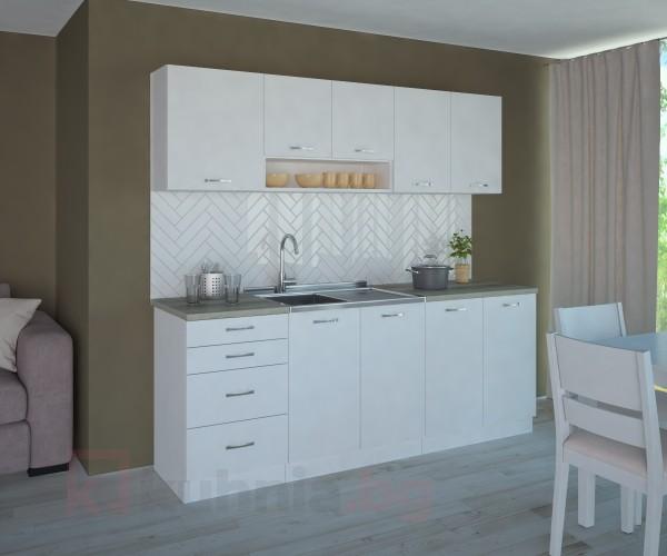 Кухненски комплект Нарцис Мат - L 210 cm