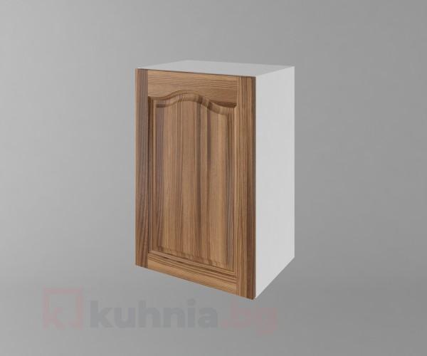 Горен кухненски шкаф с една врата Астра - Канела