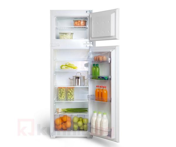 Хладилник с фризерна камера за вграждане  EUROLUX - RBE 2214 V