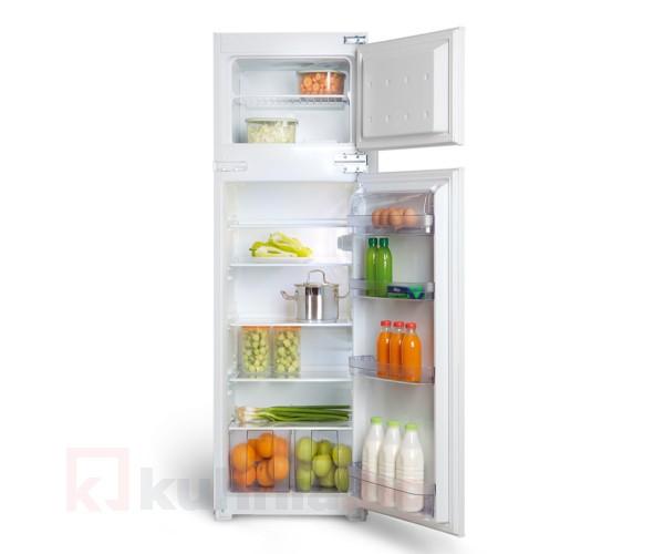 Хладилник с фризерна камера за вграждане LINO - HVL 26 V