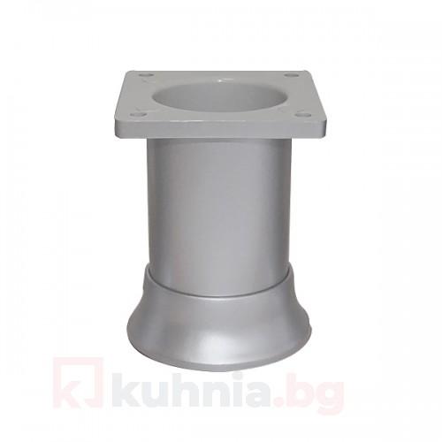 PVC крак регулируем Ø46, H65/80/100 мм