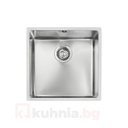 Мивка за монтаж под плот ТЕКА - BE Linea 400/400