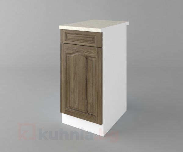 Долен кухненски шкаф с чекмедже и една врата Астра - Ким
