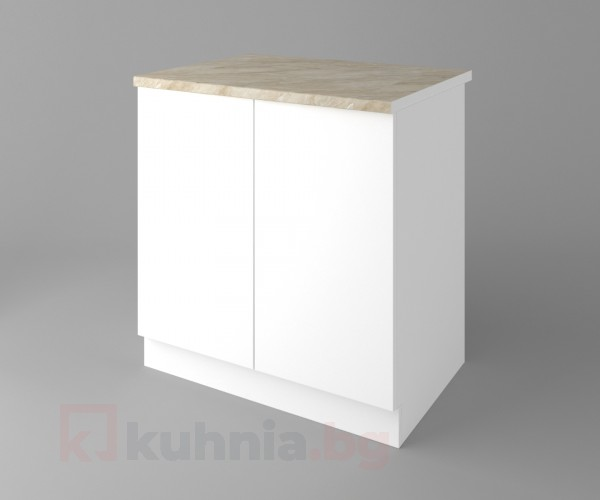 Долен кухненски шкаф с две врати Нарцис
