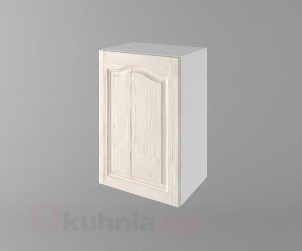 Горен кухненски шкаф с една врата Астра - Крем