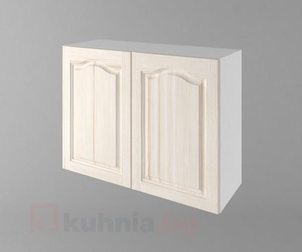 Горен кухненски шкаф с две врати Астра - Крем