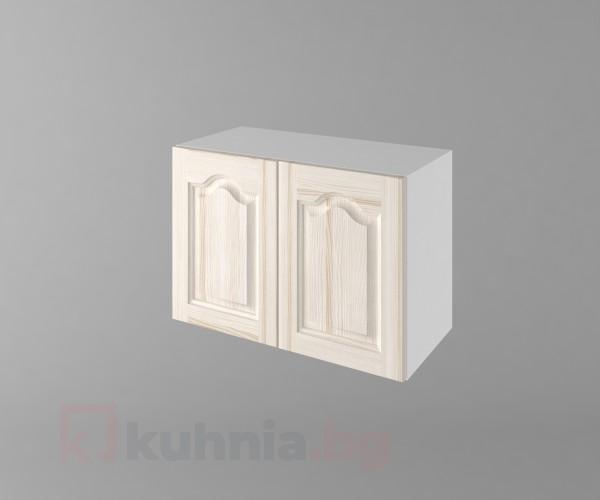 Горен кухненски шкаф за над абсорбатор б63 Астра - Крем
