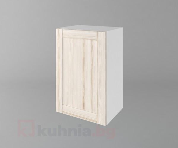 Горен кухненски шкаф с една врата Калатея - Крем