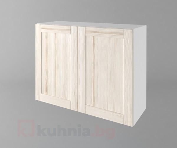 Горен кухненски шкаф с две врати Калатея - Крем
