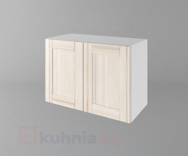 Горен кухненски шкаф за над абсорбатор б63 Калатея - Крем