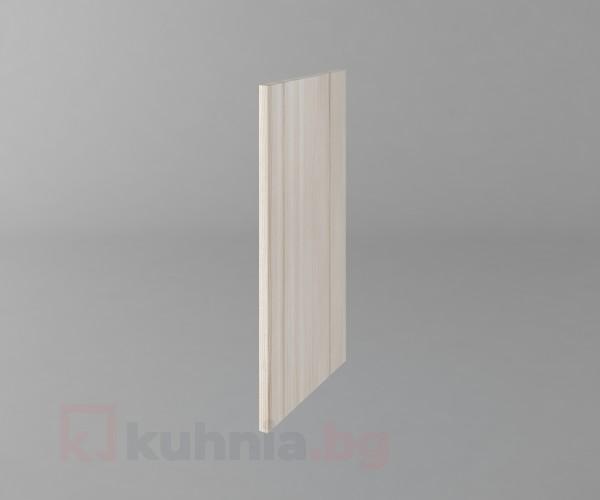Завършваща страница за горен ред  Калатея - Крем