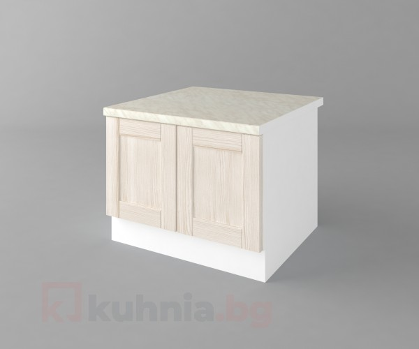 Долен кухненски шкаф за раховец с термоплот а69 Калатея - Крем