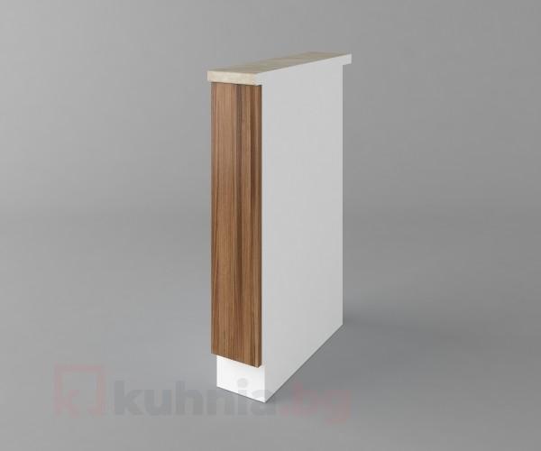 Долен кухненски шкаф с включен механизъм за бутилки Калатея - Канела Калатея - Канела