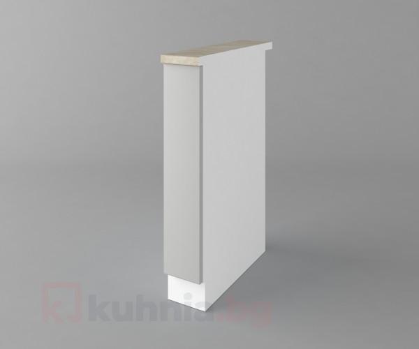 Долен кухненски шкаф с включен механизъм за бутилки Мирта