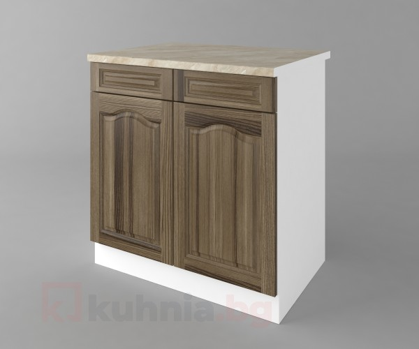 Долен кухненски шкаф с две чекмеджета и две врати Астра - Ким