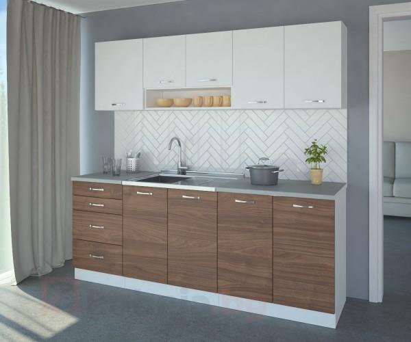 Кухненски комплект Нарцис Атлас - L 210 cm