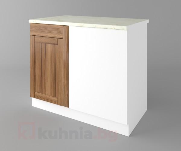 Долен кухненски шкаф за ъгъл  Калатея - Канела