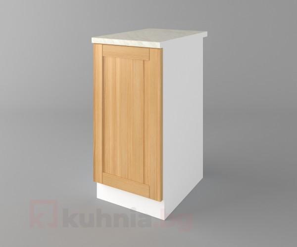 Долен кухненски шкаф с една врата Калатея - Натурална