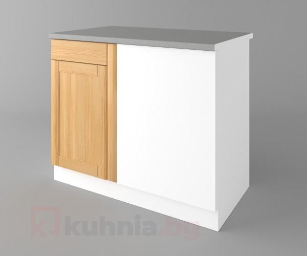Долен кухненски шкаф за ъгъл  Калатея - Натурална