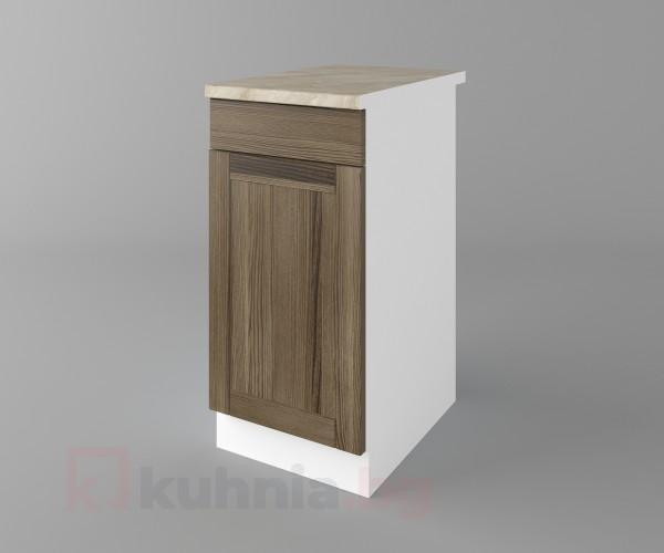 Долен кухненски шкаф с чекмедже и една врата Калатея - Ким