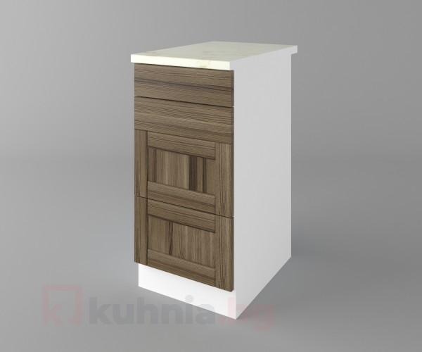 Долен кухненски шкаф с четири чекмеджета Калатея - Ким