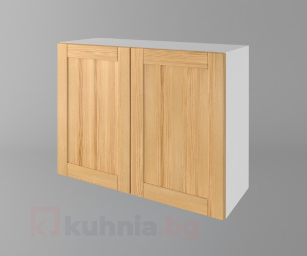 Горен кухненски шкаф с две врати Калатея - Натурална