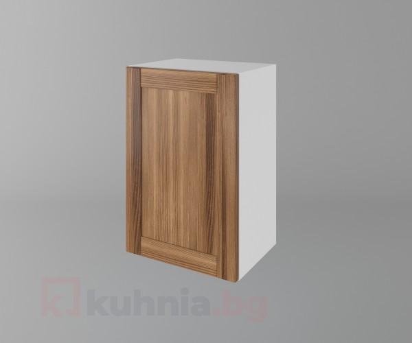 Горен кухненски шкаф с една врата Калатея - Канела