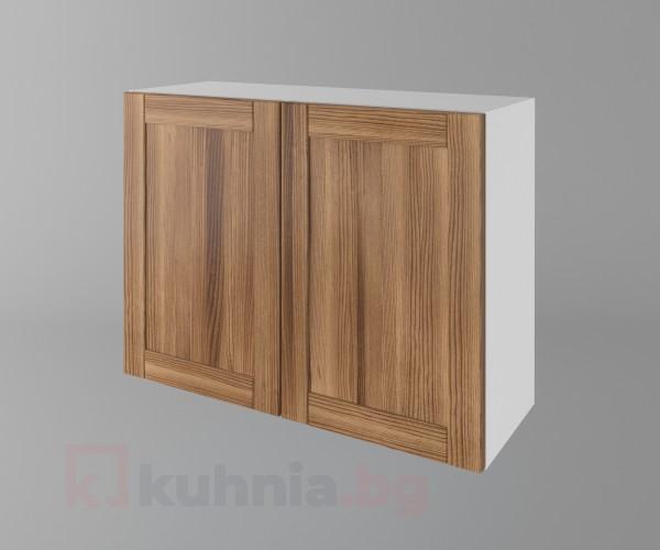 Горен кухненски шкаф с две врати Калатея - Канела