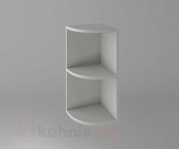 Горен кухненски шкаф за външен ъгъл  Мирта