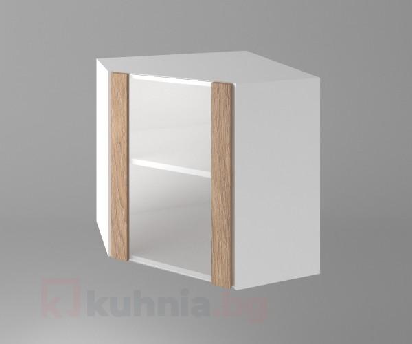 Горен кухненски шкаф за вътрешен ъгъл Поларис