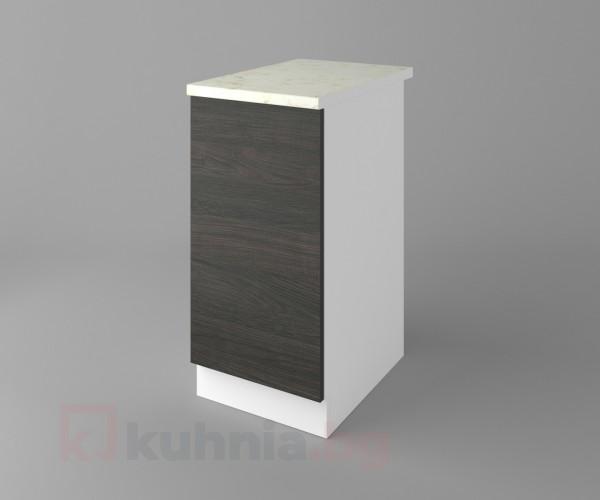 Долен кухненски шкаф с една врата Вега