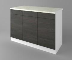 Долен кухненски шкаф с три чекмеджета и три врати  Вега 2