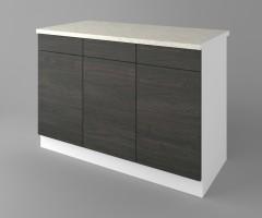 Долен кухненски шкаф с три чекмеджета и три врати  Вега 3