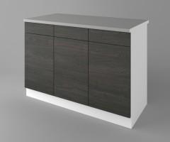 Долен кухненски шкаф с три чекмеджета и три врати  Вега 4