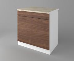 Долен кухненски шкаф с две чекмеджета и две врати Атлас 1
