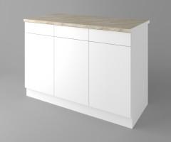 Долен кухненски шкаф с три чекмеджета и три врати Нарцис 1