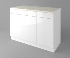 Долен кухненски шкаф с три чекмеджета и три врати Нарцис - Гланц 3