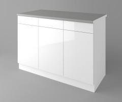 Долен кухненски шкаф с три чекмеджета и три врати Нарцис - Гланц 4