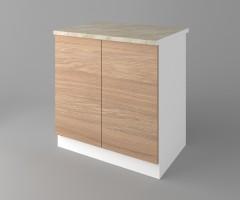 Долен кухненски шкаф с две врати Поларис 1