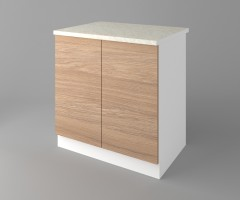 Долен кухненски шкаф с две врати Поларис 2