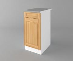 Долен кухненски шкаф с чекмедже и една врата Астра - Натурална 2